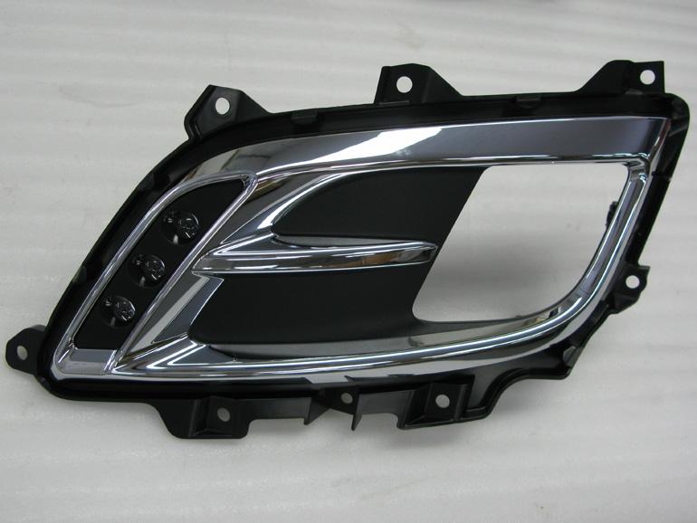 ケンスタイル・ビアンテグランツ用フォグランプガーニッシュ(LEDあり)