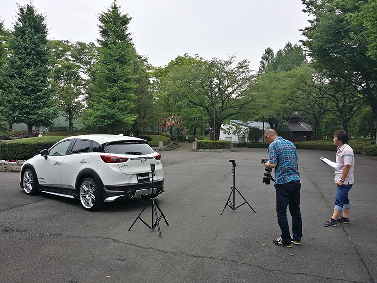 ケンスタイルCX-3エアロパーツ取材