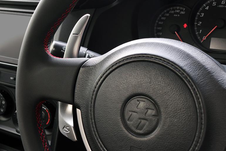 ケンスタイルロングパドルシフト|トヨタ86/スバルBRZ用