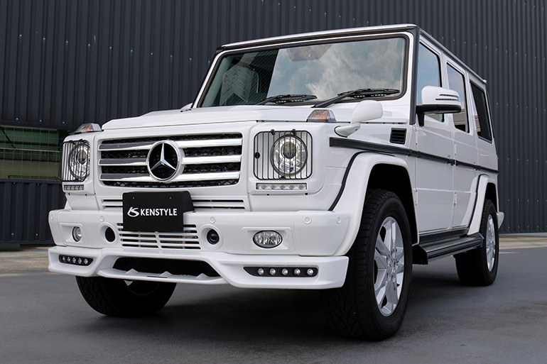 Mercedes Benz G-class(W463)KENSTYLE Body Kit|ゲレンデヴァーゲン用ケンスタイルエアロパーツ