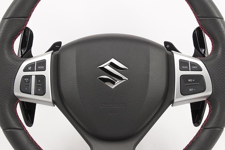 ケンスタイルのロングパドルシフト・スズキA-Typeがスズキ・クロスビーに対応
